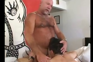 daddy and not his son screwed delivery guy