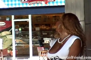 darksome tranny and old guy mutual fuckingolder