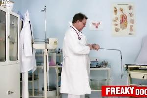 hot czech cuties visit kinky gyno doctor