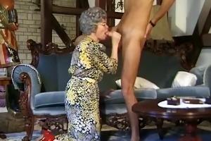 german grandma needs a every single day dose of