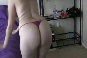 stunning babe undress dancing