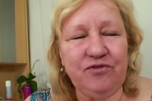 massive titted mother in law pleases him