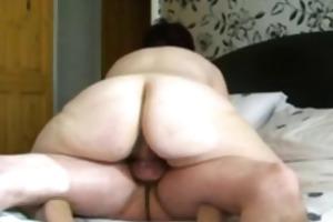 big ass mom rides