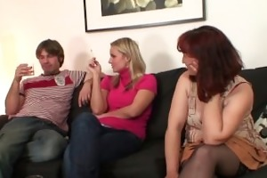 she watches her mamma rides her bfs cock