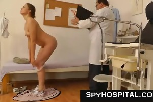 spy cam set-up in gyno check-up room