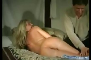 susan is a pleasant golden-haired haired milf