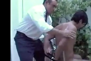 white daddy plays with his latin lover in otc