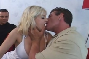 big-titty wifey enjoys new cock
