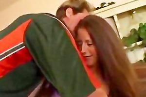 dark brown wife sticks hard pole in her butt anal