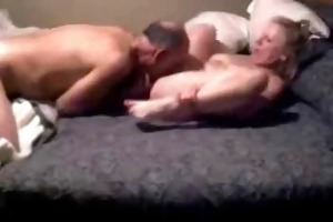 great hidden cam. dad licking pussy of my mama