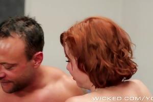 wicked - redhead milf loves cum