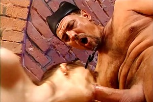 girl double fucked by a father and a plumber