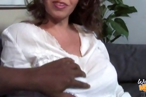 cum hungry white mother go black while son is
