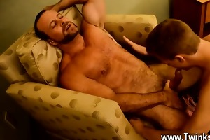 homosexual guys thankfully, muscle dad casey has
