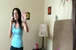 candace cage receives back at her sister by
