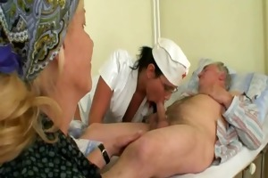 old man&#039 s and nubile nurse fuck