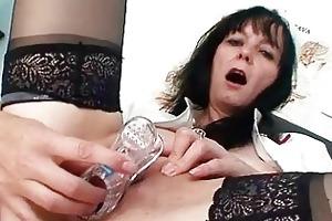 filthy old milf nurse got nice large tits below