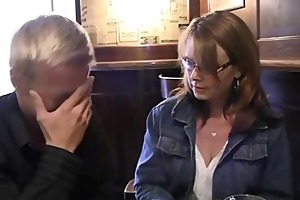 drunken mama gets her cunt drilled