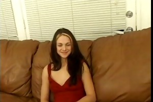 juvenile milf receives interviewed and fucked
