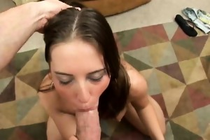 young cum eater sucks cock before getting a big,