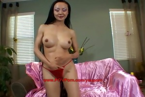 non-professional oriental angel pov porn try-out