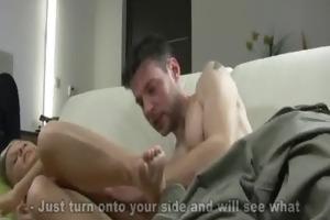 losing her butt virginity