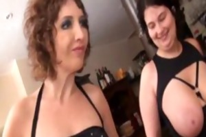 regina and her friends fucked in a restaurant