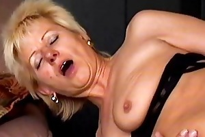 eager old mommy acquires drilled hard