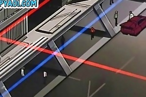 tied young homo guy getting touched and sexed by