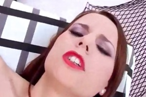 injecting sextoy in pussy