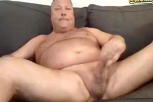 dad large jizz flow
