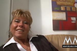 mmv films blond busty german older