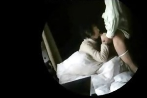 granny amateur couple caught having sex on hidden