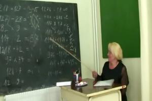 fellows fuck old school teacher