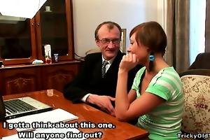 a sizzling hot student lets her teacher\s hard