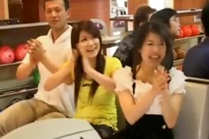 oriental chicks gets wicked at a party