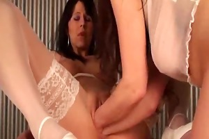 double fist fucking for her greedy fuck gap
