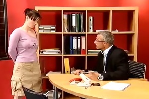 anal punishment for german student...f70