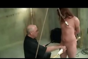 daughters clamped nipples toyed and spanked