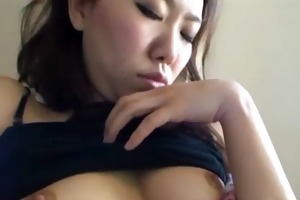 juvenile charming oriental girl sucking hard dick