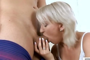 old milf drilled by a juvenile fellow