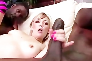 interracil candy monroe acquires double facial