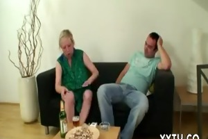 cheating sex with busty mother-in-law gets