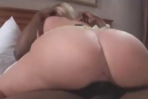 young beauty takes huge dong in her face hole and