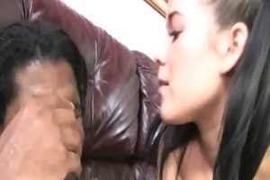 watching my daughter drilled by black monster 5