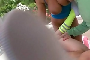 anal pounding a pro milf mom and an dilettante