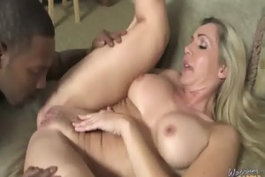 older mother i takes on big darksome cock 13