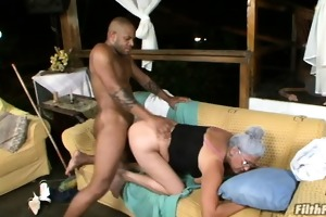 old wench getting screwed by a biggest cock!