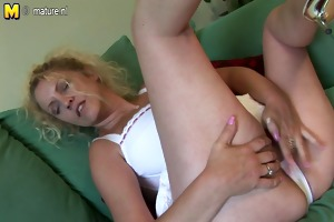 huge titted british mother dreaming of young cock