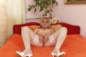 mature dominika old wet crack gaping and